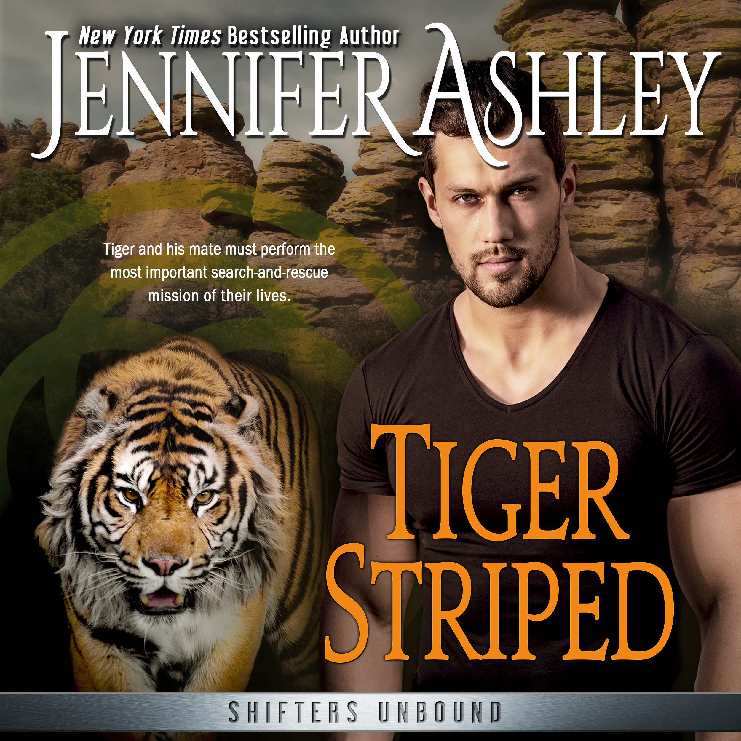 Tiger Striped audiobook by Jennifer Ashley & Allyson James