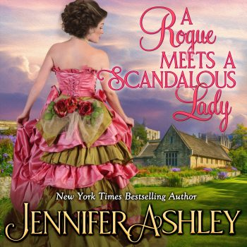 A Rogue Meets a Scandalous Lady audiobook by Jennifer Ashley & Allyson James