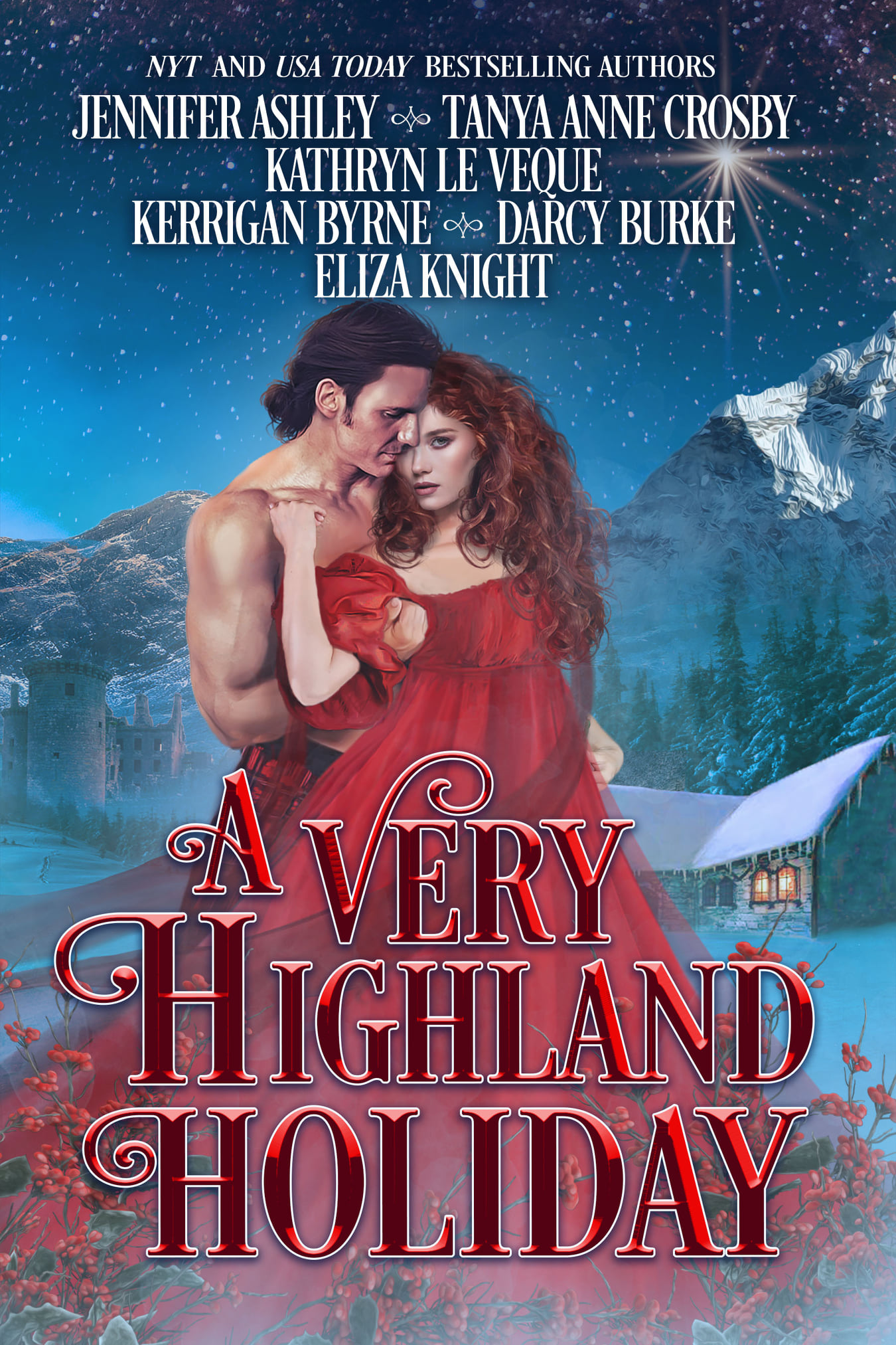 A Very Highland Holiday Collection Book Cover